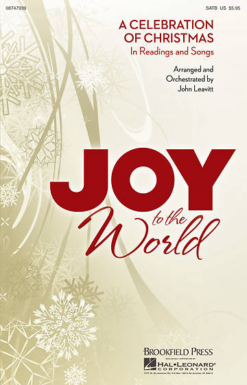 Joy to the World SATB Choral Book