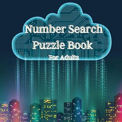 Picture of Number Search Puzzle Book for Adults