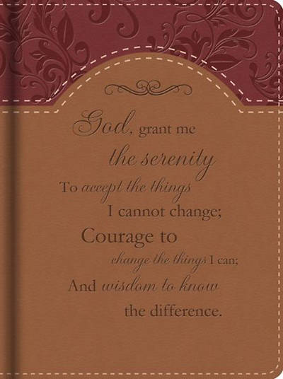 Serenity Prayer Journal (Deluxe)