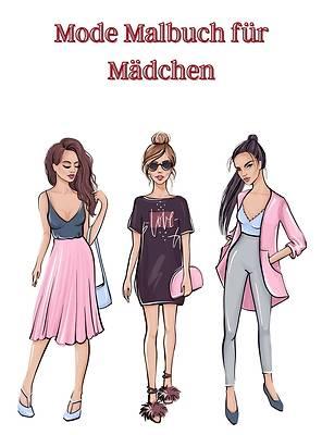 Picture of Mode Malbuch für Mädchen