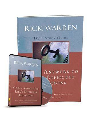Gods Answers to Lifes Difficult Questions Study Guide with DVD