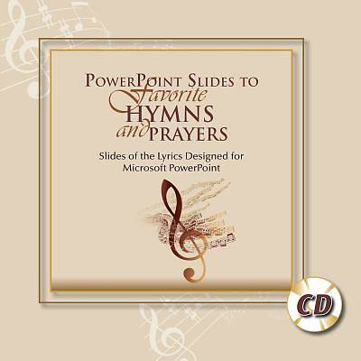 Picture of PowerPoint Slides to Favorite Hymns and Prayers