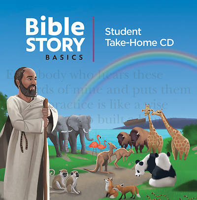Picture of Bible Story Basics Student Take-Home CD (Pkg of 5)