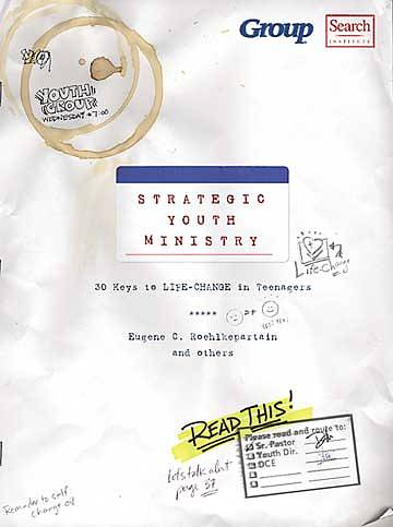 Strategic Youth Ministry