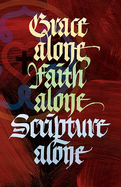 Picture of Grace Alone Faith Alone Reformation Regular Size Bulletin
