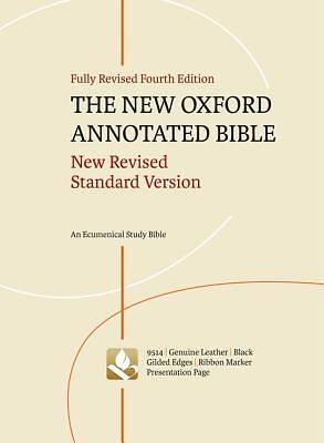 The New Oxford Annotated Bible New Revised Standard Version