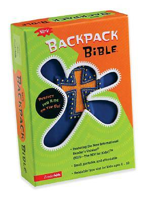 New International Readers Version Backpack Bible