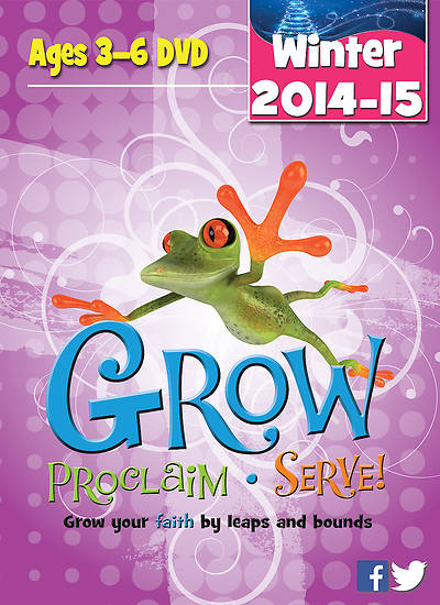 Picture of Grow, Proclaim, Serve! Ages 3-6 DVD Winter 2014-15