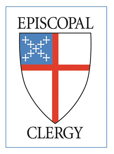 Picture of Episcopal Clergy Static Decal