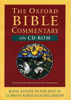 The Oxford Bible Commentary Version 1.0 on CD-ROM