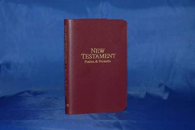 Economy Pocket New Testament with Psalms and Proverbs - KJV