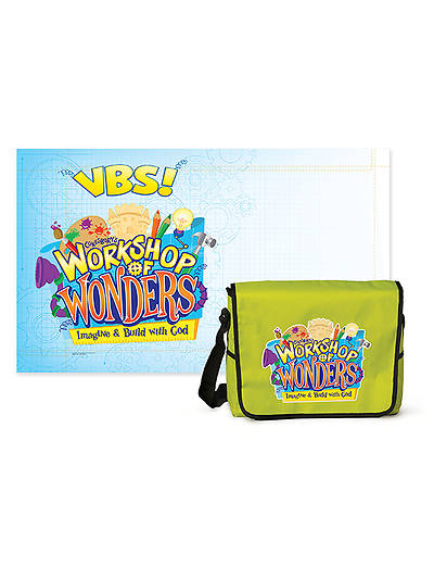 Vacation Bible School (VBS) 2014 Workshop of Wonders Starter Kit with Outdoor Banner