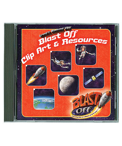 Group VBS 2014 Weekend Blast Off Blast Off Clip Art & Resources CD
