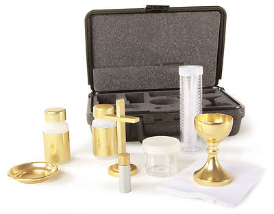 Portable Altar Set with Latin Cross