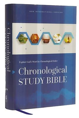 Picture of Niv, Chronological Study Bible, Hardcover, Comfort Print