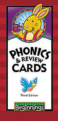 Beginnings Phonics & Review Cards Grd K5 3rd Edition