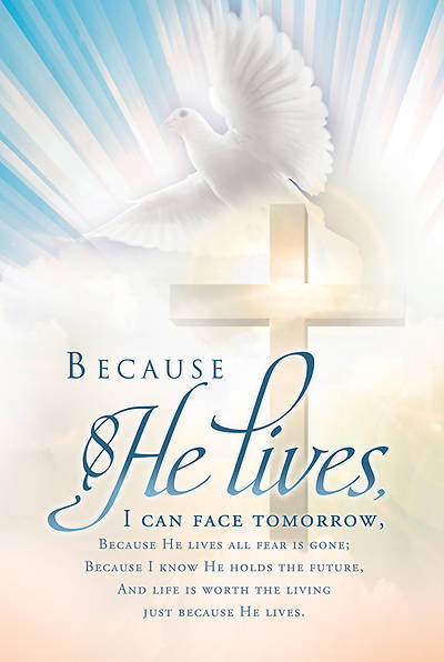 Easter/Gaither Bulletin Regular (Package of 100)