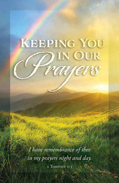 Picture of Keeping You in Our Prayers Postcard