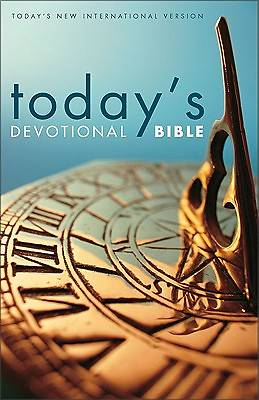 Picture of Today's New International Version Today's Devotional Bible