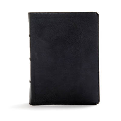 Picture of CSB Study Bible, Black Deluxe Leathertouch, Indexed