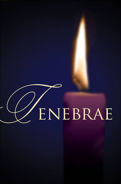 Tenebrae Bulletin 2013, Regular (Package of 50)