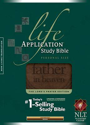 New Living Translation Life Application Study Bible, Personal Size, The Lords Prayer Edition