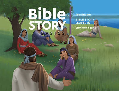 Picture of Bible Story Basics Pre-Reader Leaflets Summer 2020