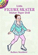 Little Figure Skater Sticker Paper Doll with Sticker