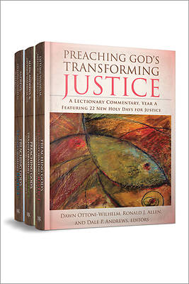 Picture of Preaching God's Transforming Justice, Three-Volume Set