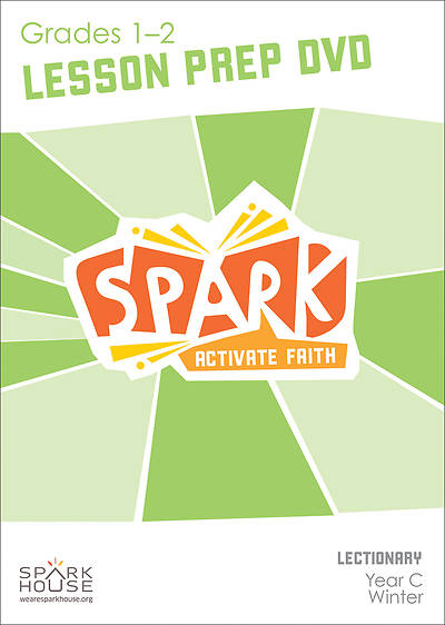 Picture of Spark Lectionary Grade 1-2 Preparation DVD Year C Winter