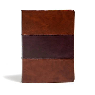 Picture of KJV Super Giant Print Reference Bible, Charcoal Leathertouch
