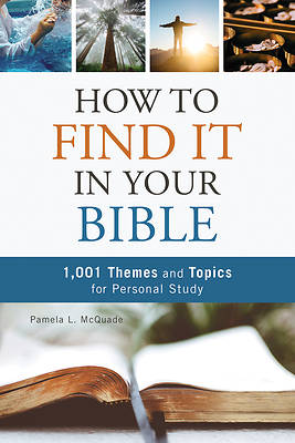 Picture of How to Find It in Your Bible
