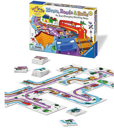 Rivers, Roads & Rails Game
