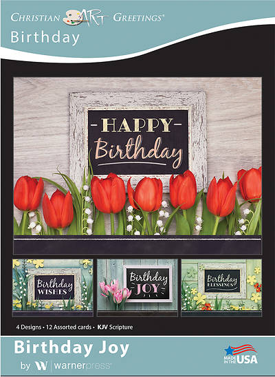 Birthday Joy Boxed Cards