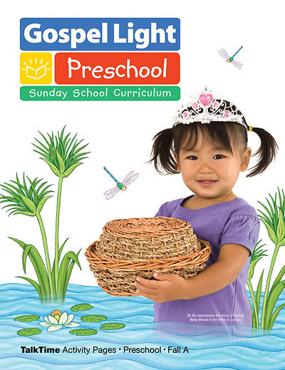 Gospel Light Preschool TalkTime Activity Pages Fall 2015