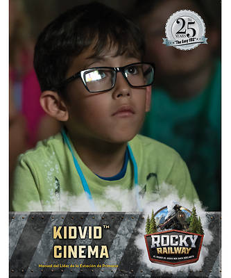 Picture of Vacation Bible School VBS 2021 Rocky Railway Kidvid Cinema Leader Manual (Spanish for Bilingual Edition)