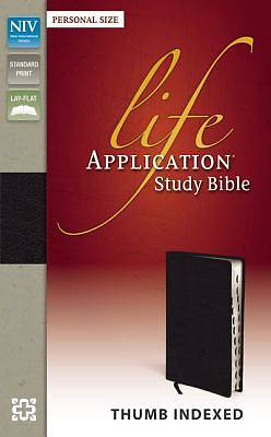 Picture of NIV Life Application Study Bible, Personal Size Indexed