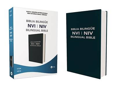 Picture of NVI/NIV Biblia Bilingüe, Leathersoft, Azul