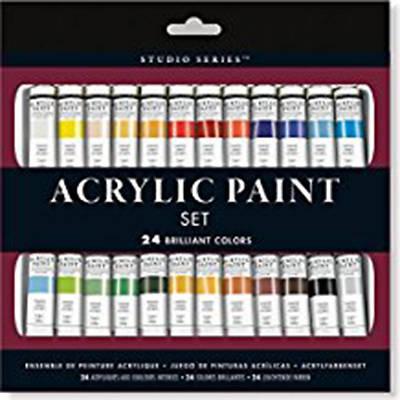 Picture of Studio Series Acrylic Paint Set (24 Colors)