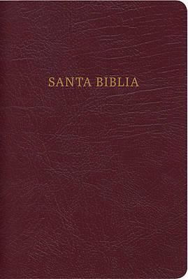 Picture of Rvr 1960 Biblia Compacta Letra Grande Con Referencias, Rojizo Piel Fabricada Con Cierre