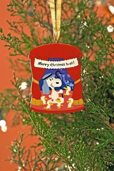 Peanuts Merry Christmas Ornament - Snoopy