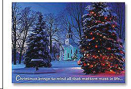 Christmas Brings to Mind Boxed Cards - Box of 25