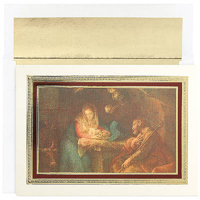 Framed Nativity Boxed Cards
