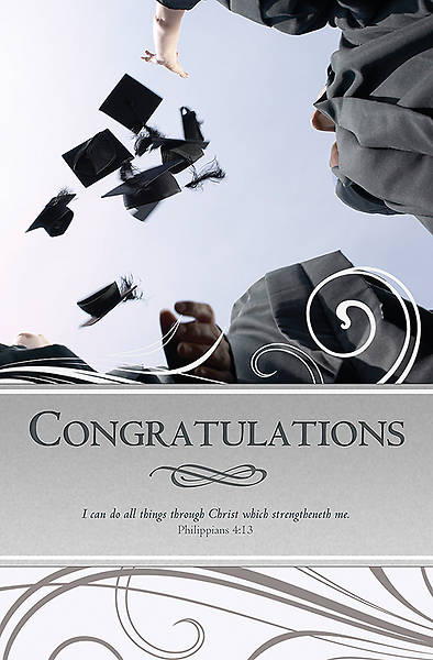 Graduation/Congratulations Bulletin, Regular (Package of 100)