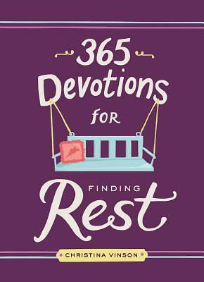 Picture of 365 Devotions for Finding Rest