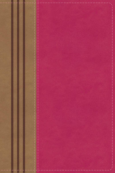 Picture of NIV, Biblical Theology Study Bible, Imitation Leather, Pink/Brown, Comfort Print