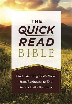 Picture of The Quick-Read Bible