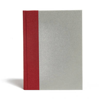 Picture of KJV Study Bible, Crimson/Gray Cloth Over Board, Indexed