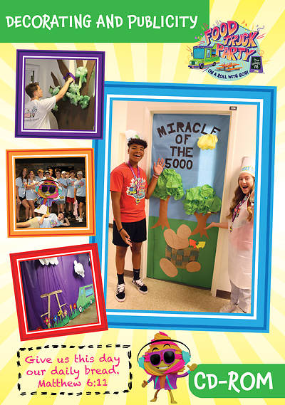 Picture of Vacation Bible School (VBS) Food Truck Party Decorating and Publicity CD-ROM