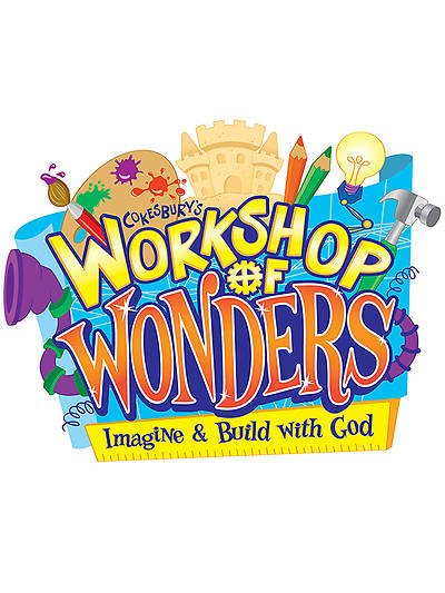 Vacation Bible School (VBS) 2014 Workshop of Wonders Downloadable High Resolution Logo